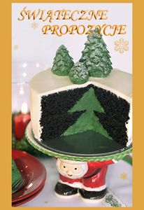 Christmas tree cake-recipe. Hit translate to english, laugh a little at the sometimes ridiculous translations ('dough should not wait for the birds'...), then make an awesome cake!