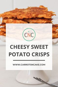 If I go over my macro goals for the day, it better be worth it. THESE are totally worth it! These delicious cheesy, sweet and crisp snacks are great for an afternoon pick me up! | Carrots N Cake |