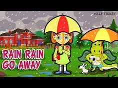 Oh no, it's #raining! :( #RainRainGoAway! We want to play, isn't that right, #kids? #nurseryrhymes