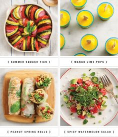 summer recipes  some link love