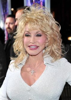 Dolly Parton. I've always loved Dolly and her amazing self confidence. She shines beautiful from the inside out