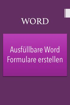 Word Tipps: So erstellst du ausfüllbare Word Formu Business Planner, Business Tips, Whatsapp Tricks, Office Hacks, Lawyer Gifts, Gifts For Dentist, Money Plan, Savings Planner, Writing Advice