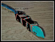 saddle feather