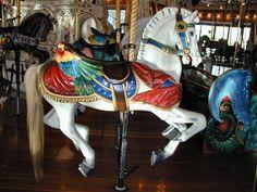 Spokane's Historic Looff Carrousel The Parrot Horse