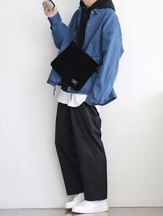 yoyo*yo│GUのデニムジャケットコーディネート