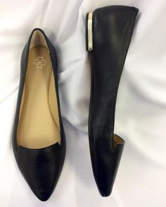 #AnnTaylor #Flats Metallic heel | Size 7.5 | $35! Call for more info (781)449-2500. #FreeShipping #ShopConsignment  #ClosetExchangeNeedham #ShopLocal #DesignerDeals #Resale #Luxury #Thrift #Fashionista