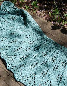 Kudzu Shawlette - free pattern; thanks!  pretty design