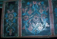DigitaltMuseum - Malt av Sivert Hågensen Franset f.1811.....(Se Bjørn Austigards feltbok 1984) ....Kiste laget av rosemaleren.....Eier Gunder Gujord f.1909.