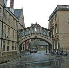 A Venetian corner in Oxford