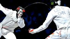 London 2012 Olympics - Sheng Lei : China, Fencing- Men's individual foil - Gold