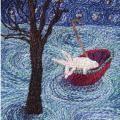 Narrative | Karen Richards Karen Richards, Coin, Embroidery, Needlework, Drawn Thread, Stitch, Stitches