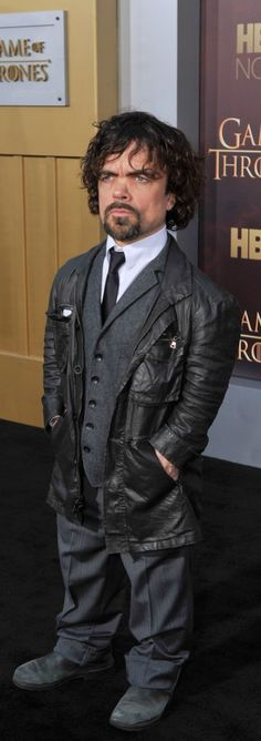 Peter Dinklage at the Game of Thrones Season 5 premiere