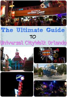 The Ultimate Guide To Universal CityWalk Orlando in Florida. Everything you need to know about CityWalk at Universal Orlando. Orlando Shopping, Orlando Travel, Orlando Vacation, Florida Vacation, Florida Travel, Cruise Vacation, Vacation Spots, Universal City Walk Orlando, Disney Universal Studios