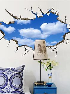 Cheap 3D Wall Stickers Online | 3D Wall Stickers for 2021 Living Room Decor Pillows, Stickers Online, 3d Wall, Wall Stickers, Decorative Pillows, Tapestry, Home Decor, Wall Clings, Decorative Throw Pillows
