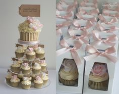 Sugar Ruffles, Elegant Wedding Cakes Barrow in Furness, Dalton, Ulverston and the Lake District: Wedding Cupcakes