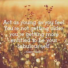 March 22nd is As Young As You Feel Day! So go live your life and forget about your age! #WalkOnWaterBoutiques