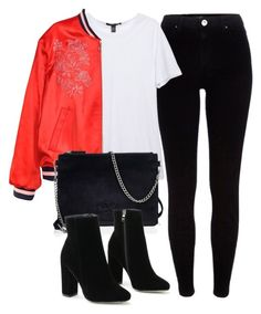 """""""Untitled #6238"""" by laurenmboot ❤ liked on Polyvore featuring River Island and Superdry"""