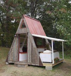 Deek Diedricksen's Transforming A-Frame Getaway Cabin – Relaxshacks