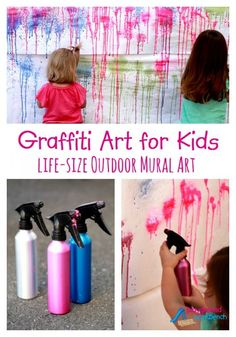 Graffiti Art for Kids - Life-Size Outdoor Mural Art