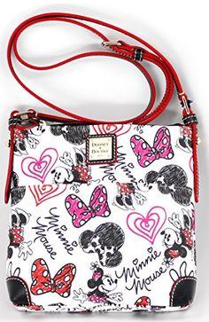 7bc0050d9d Disney Dooney   Bourke Minnie Mouse Hearts   Bows Letter Carrier Crossbody  Bag