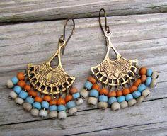 Gypsy Earrings by TwigsAndLace