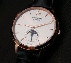 Montblanc Meisterstück Heritage Moonphase Watch Hands-On | aBlogtoWatch