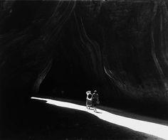 Todd Webb: Georgia O'Keeffe, Glen Canyon, 1961. Thank you, melisaki.