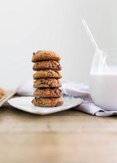 Paleo choc chip coconut cookies