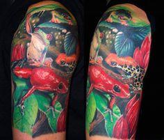 frogs tattoos