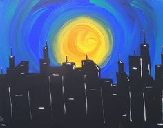 "The Sunsets Over Your City by Joe Dimino | $100 | 16""w x 12""h 