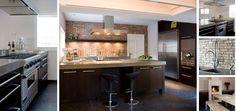 Maatwerk landelijk moderne keukens in massief 3-laags eiken hout met elk een ter plaatse gegoten betonnen aanrechtbladen - The Living Kitchen B.V. by Paul van de Kooi