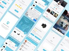 Demooz Mobile  by Beasty #Design Popular #Dribbble #shots