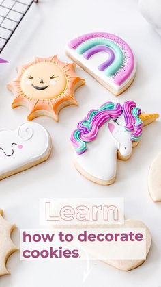 Fancy Cookies, Iced Cookies, Cut Out Cookies, Sugar Cookies, Cookie Icing, Royal Icing Cookies, Wilton Cake Decorating, Cookie Decorating, Biscuits