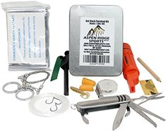 Best Survival Kit  to Get Back with the 10 Must Have Emergency Items Including Survival Kit With Fire Starter Kit and Mylar Blanket -- You can find more details by visiting the image link.