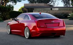 2015 Cadillac ATS coupe (by BASTON DESIGN-KANE POSTERS)