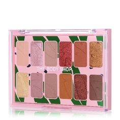 Own your natural look with our most pigmented palette ever. Packed with 12 light to dark mattes and shimmers, it's easy to achieve subtle to dramatic, smudge-proof looks that last all day. Enriched with Community Trade marula oil, these shades are de The Body Shop, Body Shop At Home, Natural Eyeshadow Palette, Eye Palette, Teacher Christmas Gifts, Teacher Gifts, Hand Care, Contour Makeup