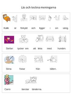 Bild1 Sign Language, Preschool, Teaching, Education, Communication, Tips, Preschools, Kid Garden, Early Elementary Resources