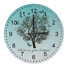 Dream Tree Wallclock