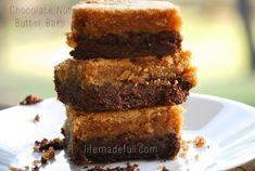 Chocolate Nut Butter Bars (grain-free) - Life Made Full