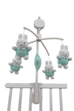 Karuzela do łóżeczka króliczek Miffy mięta, Tiamo AMKO dla dzieci