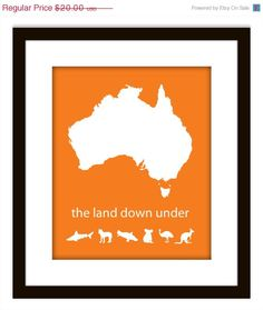 I come from a land down under!