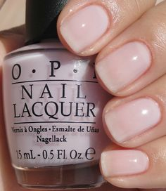"The new OPI New York Ballet collection is my favorite ever! This one is ""Care to Danse"""