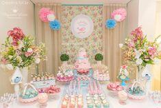 festa passaros azul e rosa - Pesquisa Google