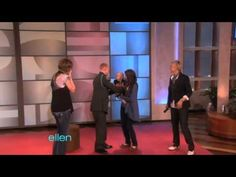 An Emotional Surprise Reunion!--on Ellen...cried through the whole thing