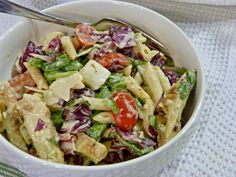 A Squared: What's For Dinner Wednesday: Chicken Caesar Pasta Salad