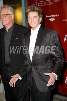 bruce Sussman and Barry Manilow Harmony a new musical red carpet Wireimages.