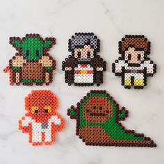 Star Wars characters perler beads