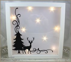 Ribba frame - Home Page Diy Christmas Shadow Box, Christmas Box Frames, Diy Christmas Gifts, Christmas Projects, Christmas Party Themes, Christmas Decorations, Diy Halloween, Diy Kitchen Projects, Arte Country