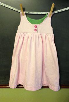 Five Little Ducklings: A Pattern-Free Summer: Knit Dress