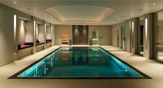 I love the way there are beds on the side... swim and take a nap. -- exquisance.com